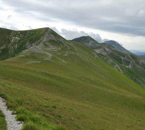 Veduta panoramica sul Monte Porche